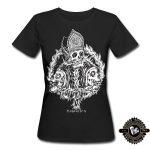 Qualitativ hochwertiges und bequemes figurbetontes Goth Girlie Shirt